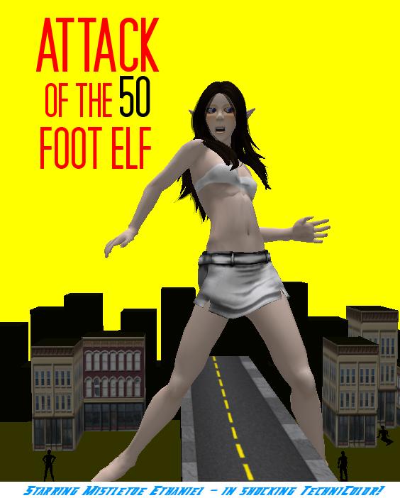 50ft elf poster