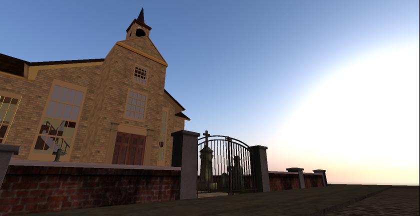 Zaida's church.