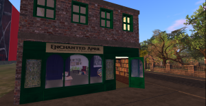 Enchanted April, a children's bookstore in Philomenaville.